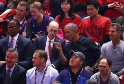 Tổng thống Barack Obama cùng dàn sao khủng trải nghiệm fan ảo tại NBA Finals