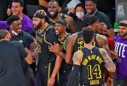 Lakers mặc áo đấu phiên bản tri ân Kobe Bryant 2 lần tại Finals