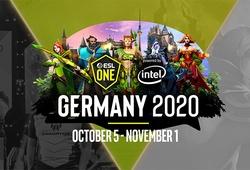 Lịch thi đấu Dota 2 ESL One Germany Online 2020