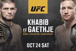 Lịch thi đấu UFC 254: Khabib Nurmagomedov vs Justin Gaethje