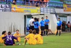 Ban trọng tài VFF lên tiếng về tình huống đội nữ Hà Nam bỏ trận đấu