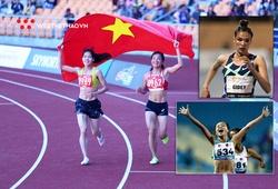 Kỷ lục quốc gia 5000m nữ cách xa kỷ lục thế giới mới bao nhiêu?