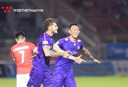 Thắng sát nút Hồng Lĩnh Hà Tĩnh, Sài Gòn FC củng cố ngôi đầu