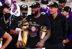 Chùm ảnh: Sống lại khoảnh khắc lên ngôi vô địch lần thứ 17 của Los Angeles Lakers