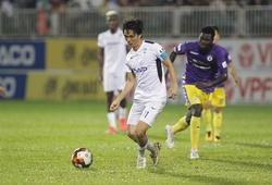 Tuấn Anh - Xuân Trường bất lực trước sự gai góc của Hà Nội FC