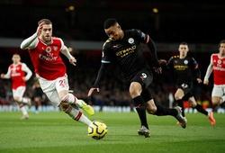 Lịch sử đối đầu, đội hình Man City vs Arsenal, Ngoại hạng Anh 2020