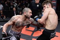 Cháu nội trùm Mafia nhận trận thua thảm đầu tại giải MMA CES 61