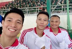 Trọng Hoàng, Tiến Dũng và Quế Ngọc Hải chính thức trở thành tân sinh viên