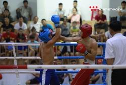 Những trận 'chung kết sớm' mãn nhãn NHM ở giải VĐ Kickboxing QG 2020