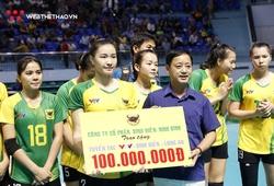 Không vô địch, VTV Bình Điền Long An vẫn nhận thưởng lớn từ ngôi Á quân giải trẻ