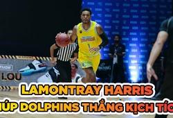 LaMontray Harris giúp Nha Trang Dolphins thắng trận kịch tính