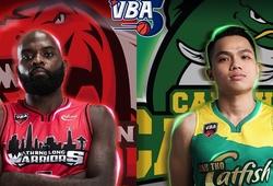TRỰC TIẾP bóng rổ VBA 2020: Thang Long Warriors vs Cantho Catfish (19h00, 21/10)
