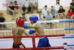 Chùm ảnh: Ngày thi đấu 21 tháng 10 giải Vô địch Kickboxing quốc gia