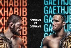 KẾT QUẢ UFC 254: Khabib Nurmagomedov siết bất tỉnh Justin Gaethje