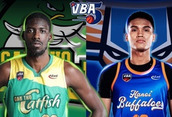 TRỰC TIẾP bóng rổ VBA 2020: Cantho Catfish vs Hanoi Buffaloes (16h00, 25/10)