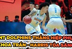 Khoa Trần cùng Lamontray Harris toả sáng, NT Dolphins chiến thắng DN Dragons