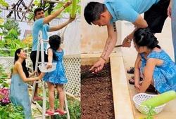 Con gái tự lập, Công Vinh – Thuỷ Tiên yên tâm cứu trợ miền Trung