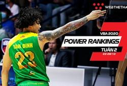 VBA 2020 Power Rankings tuần 2: Catfish bất bại cùng sự bất ngờ từ City Wings