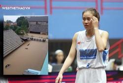 Nhà của nữ VĐV tuyển bóng rổ trẻ Hà Nội bị lũ nhấn chìm sau bão số 9