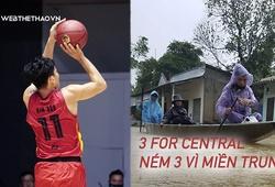 """Saigon Heat cùng Danang Dragons khởi động chiến dịch từ thiện """"3 For Central"""""""