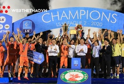 Bình Định thăng hạng V.League 2021 sau 12 năm chờ đợi