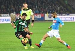 Nhận định Napoli vs Sassuolo, 00h00 ngày 02/11, VĐQG Italia