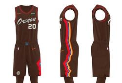 """Portland Trail Blazers ra mắt đồng phục thi đấu style """"vintage"""" đầy lạ mắt"""