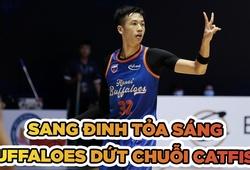 Hanoi Buffaloes chấm dứt mạch thua 3 năm với Cantho Catfish
