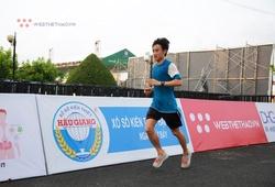 Giật mình đụng cựu tuyển thủ dự SEA Games chạy giải ở Hậu Giang
