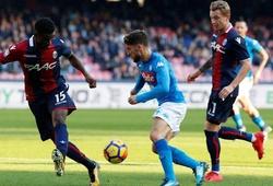 Nhận định Bologna vs Napoli, 0h00 ngày 09/11, VĐQG Italia