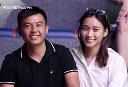 Tay vợt số 1 Việt Nam Lý Hoàng Nam cùng người yêu baller tận hưởng không khí VBA 2020