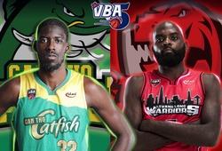 Kết quả bóng rổ VBA 2020 Game 31: Cantho Catfish 61-79 Thang Long Warriors