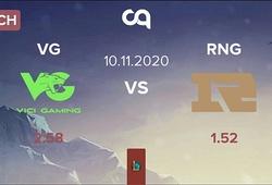 Kết quả VG vs RNG, vòng bảng NEST Cup 2020