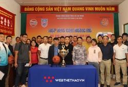 Họp báo giải đấu Vietnam Students Basketball League 2020