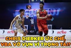 Án cấm trận cho Dierker từ tiếng còi nhạy cảm của trọng tài VBA