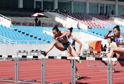Người đẹp Vĩnh Long vô địch chạy 100m rào khi chỉ đấu 3 đối thủ