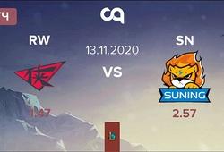 Kết quả RW vs SN, vòng bảng NEST Cup 2020