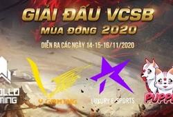 Kết quả VCSB Mùa Đông 2020 vòng chung kết 14/11: V Gaming vs Luxury