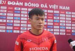 Hậu vệ U22 Việt Nam khen nức nở Đoàn Văn Hậu