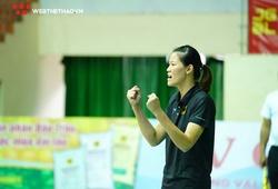 Trên ghế huấn luyện, cựu phụ công Nguyễn Thị Ngọc Hoa lần đầu có giải