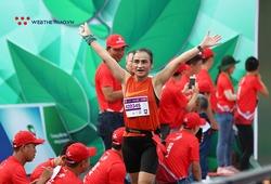 Hứa Thanh Giang - Cô văn thư con lai phá kỷ lục đường chạy marathon Hậu Giang