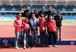 Dấu ấn Vietcontent Sports - Webthethao tại Giải Điền kinh Vô địch Quốc gia 2020