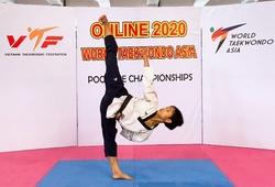 Taekwondo Việt Nam giành 2 HCV thi đấu quyền online vô địch Châu Á