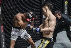 Kiệt sức khi không vật được đối thủ, HCV Nhu thuật thế giới dính đấm knockout