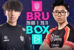 Kết quả BRU vs BOX, ngày 2 AIC Liên quân 2020