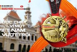 Techcombank Ho Chi Minh City International Marathon 2020 gây sốt với mẫu huy chương đẹp lạ