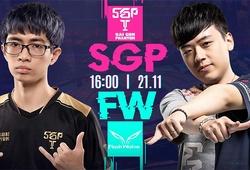 Kết quả FW vs SGP, ngày 3 AIC Liên quân 2020