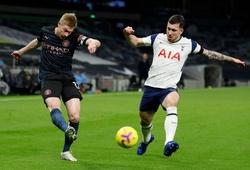 Video Highlight Tottenham vs Man City, Ngoại hạng Anh 2020 đêm qua