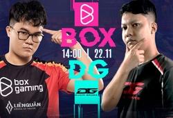 Kết quả BOX vs DG, ngày 4 AIC Liên quân 2020
