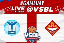 TRỰC TIẾP bóng rổ VSBL 2020: Thực Nghiệm vs Thăng Long (ngày 22/11, 15h00)